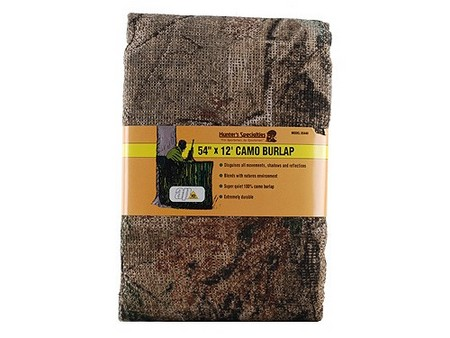 BURLAP AP CAMO 54IN X 12FT 05440