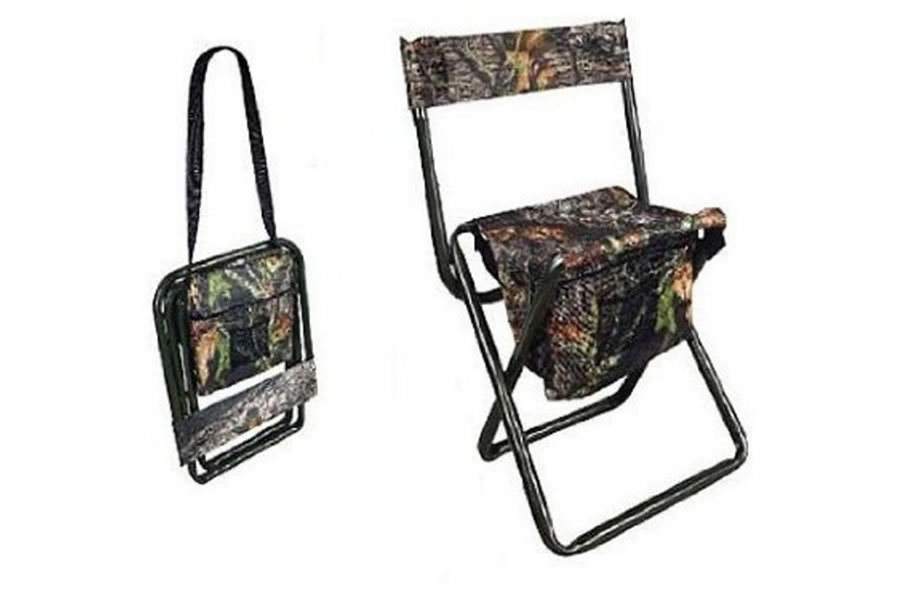 Allen Camo Folding Stool With Back Vance Outdoors