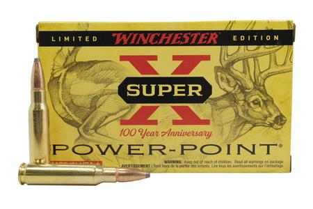 Winchester 308 Win 150 gr Power Point Super X 100 Year Anniversary Limited Edition 20/Box
