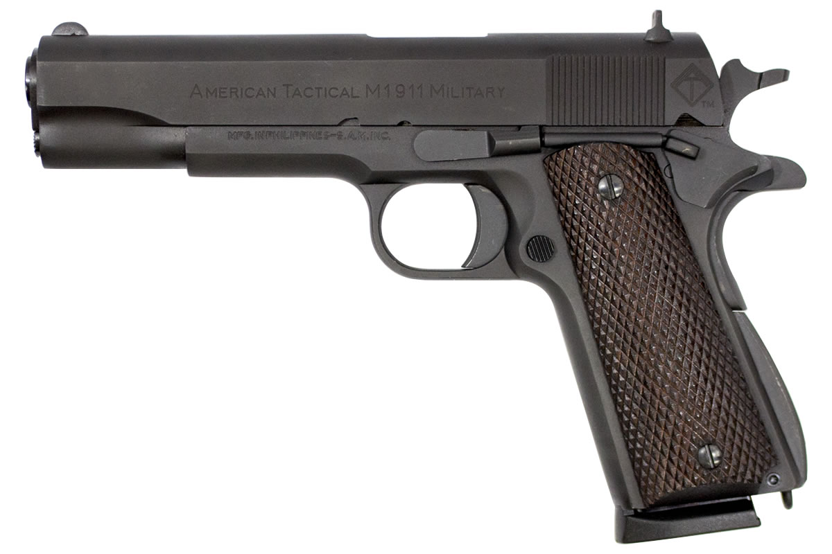 American Tactical Imports Military 1911 45 Acp Centerfire Pistol