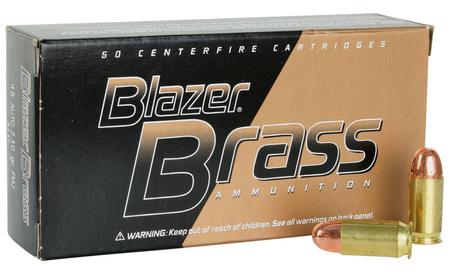 CCI 45 Auto 230 gr FMJ RN Blazer Brass 50/Box