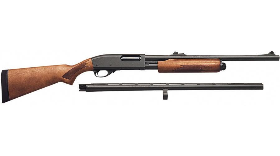 Remington 870 Express Combo 12 Gauge Pump Shotgun With 26