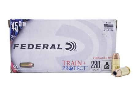 Federal 45 Auto 230 gr VHP Train and Protect 50/Box