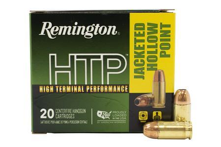 Remington 380 Auto 88 gr JHP High Terminal Performance 20/Box
