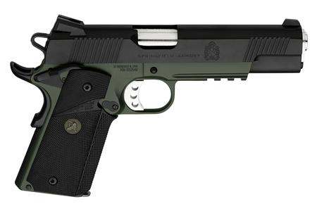 1911 LOADED OPERATOR .45 ACP PISTOL WITH BLACK ARMORY KOTE