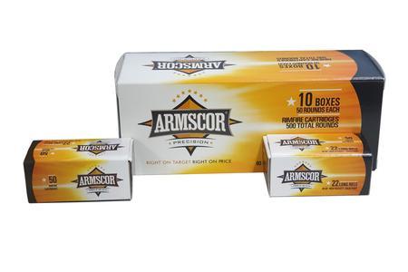 Armscor 22LR 40 gr Solid Point 500 Round Brick