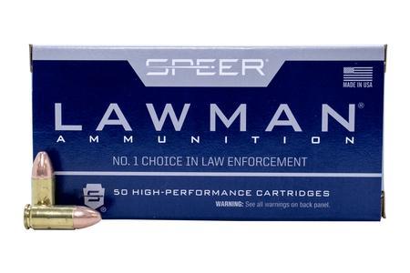 Speer 9mm 115 gr TMJ Lawman 50/Box