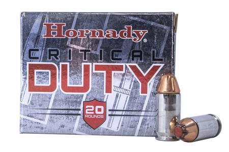 Hornady 45 Auto +P 220 gr FlexLock Critical Duty Police Trade Ammo 20/Box
