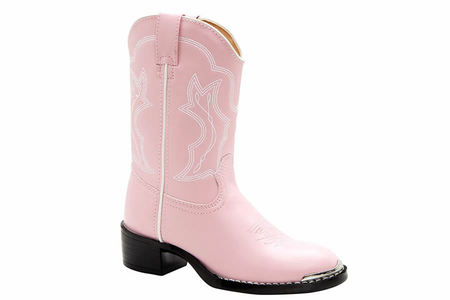 YOUTH PINK WESTERN BOOT