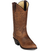 WOMENS 11` LEATHER WESTERN BOOT