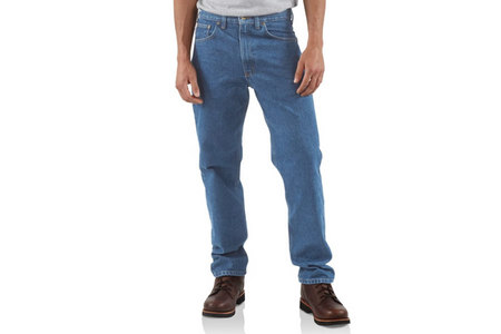 TRADITIONAL FIT TAPERED LEG JEAN