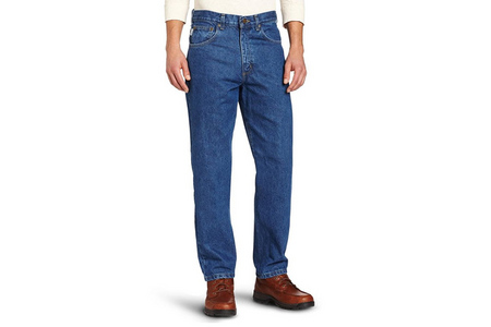 RELAX FIT WASHED DENIM JEAN