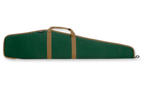 BULLDOG Pit Bull Scoped Rifle Case Green w/ Tan Trim for 48 Inch Rifles