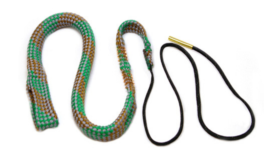 how to clean a gun with a bore snake