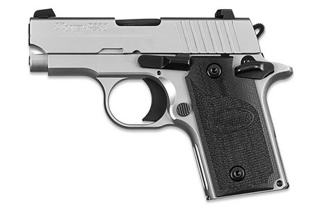 SIG SAUER P238 HD 380ACP STAINLESS W/ NIGHT SIGHTS