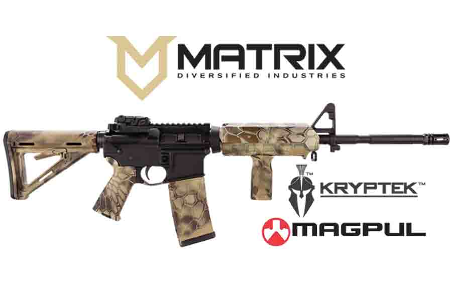Magpul Moe Ar 15 Kryptek Highlander Kit With 30 Round Magazine Mil Spec Stock