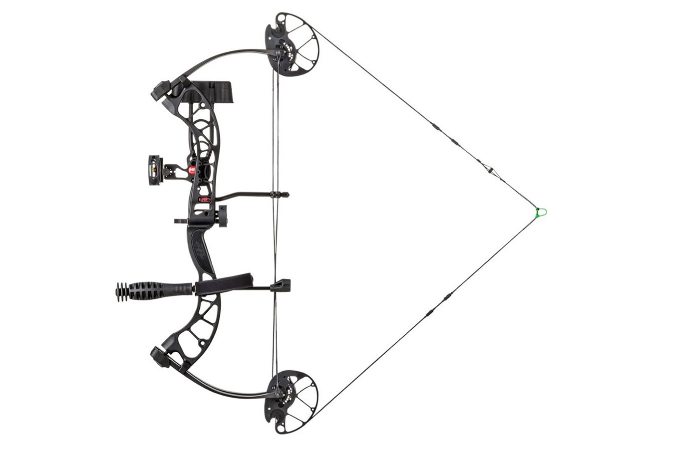 PSE RTS Uprising 27inch 50lbs RH Black Compound Bow