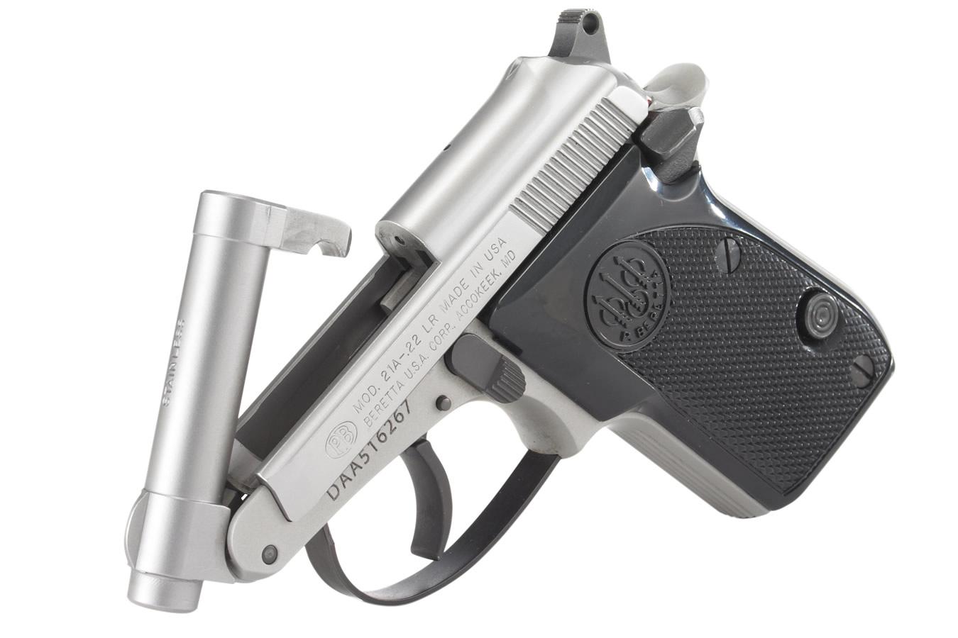 21 A Bobcat Inox 22LR Tip-Up Rimfire Pistol