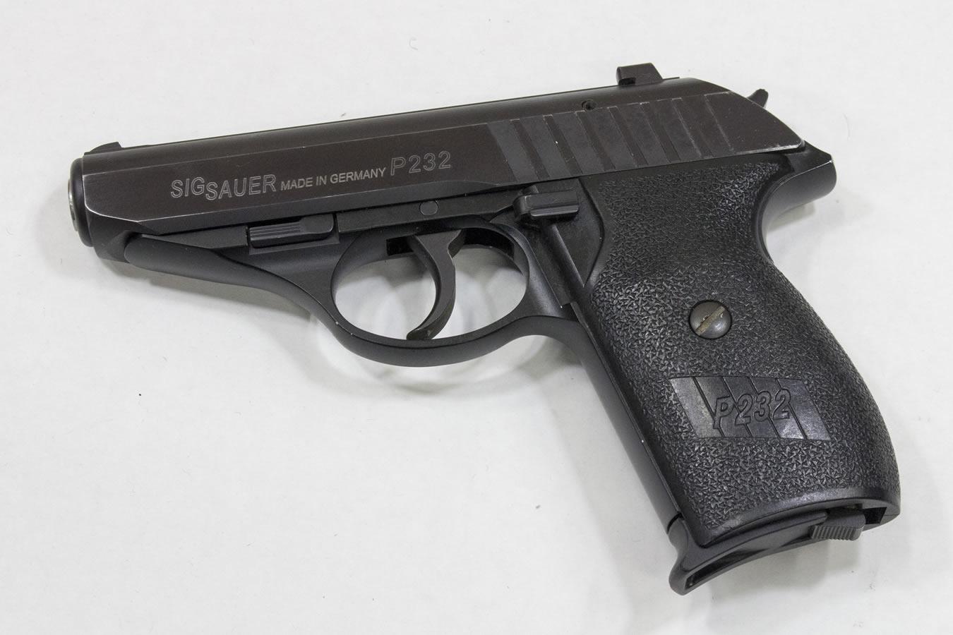 sig sauer p232 380 acp police trade ins fair condition