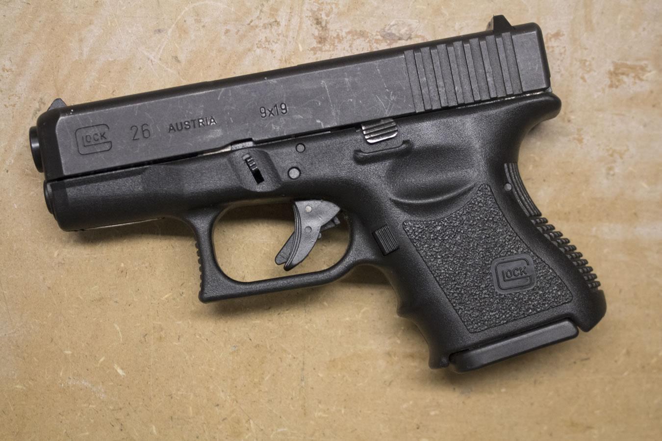 Glock 26 Gen2 9mm Police Trade Ins Good Condition Sportsman S