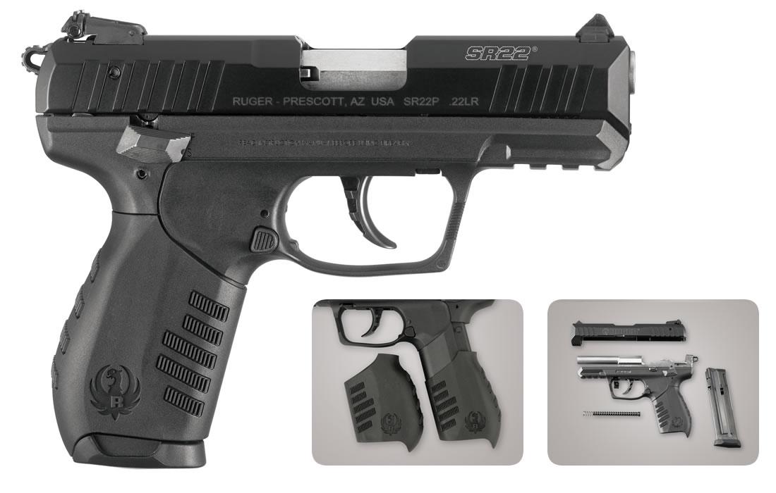 ruger sr22 pistol 22lr rimfire 22 handgun sportsman outdoor lr guns gun superstore barrel magazines semi firearms hand automatic handguns