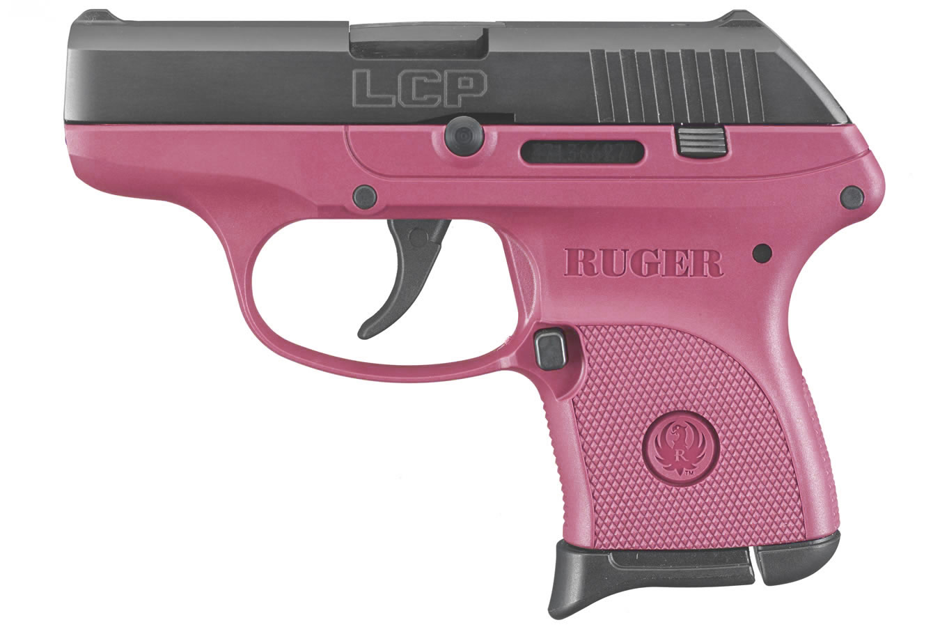 Ruger LCP 380ACP Centerfire Pistol with Raspberry Grip Frame   Sportsman's Outdoor Superstore