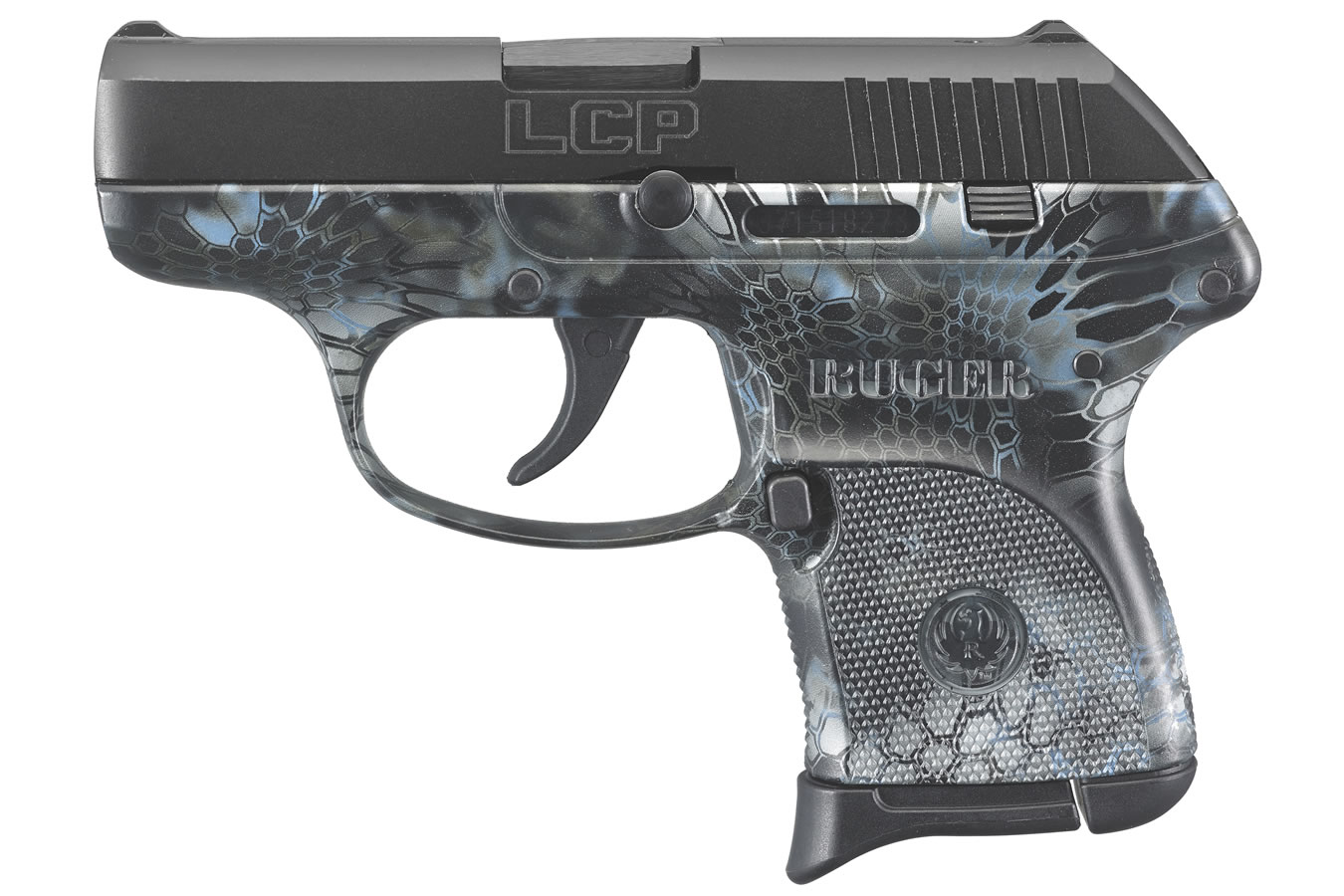 Ruger LCP 380 ACP Carry Conceal Pistol with Kryptek Neptune Camo   Sportsman's Outdoor Superstore
