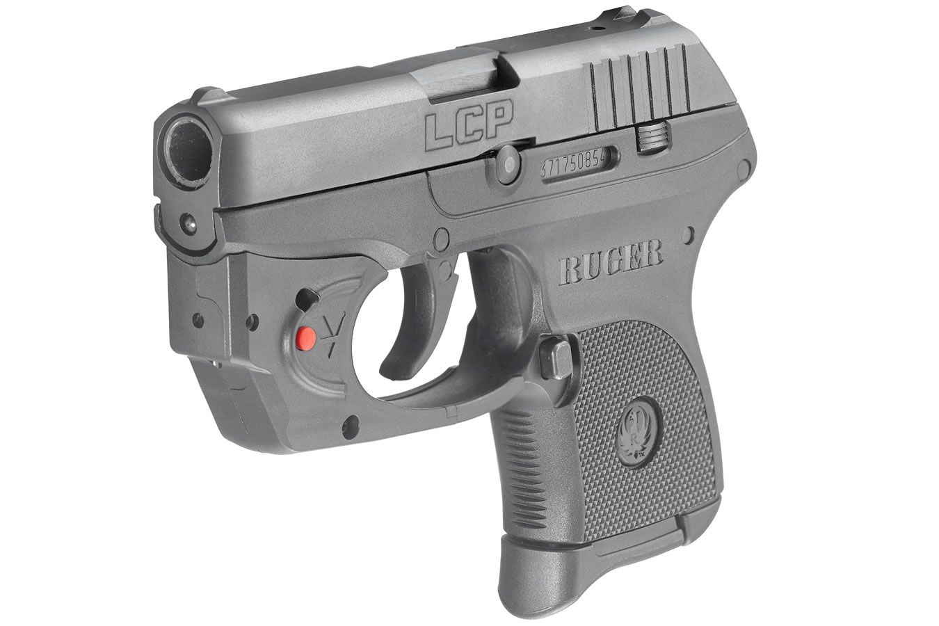 Ruger Lcp 380 Auto With Viridian E Series Red Laser