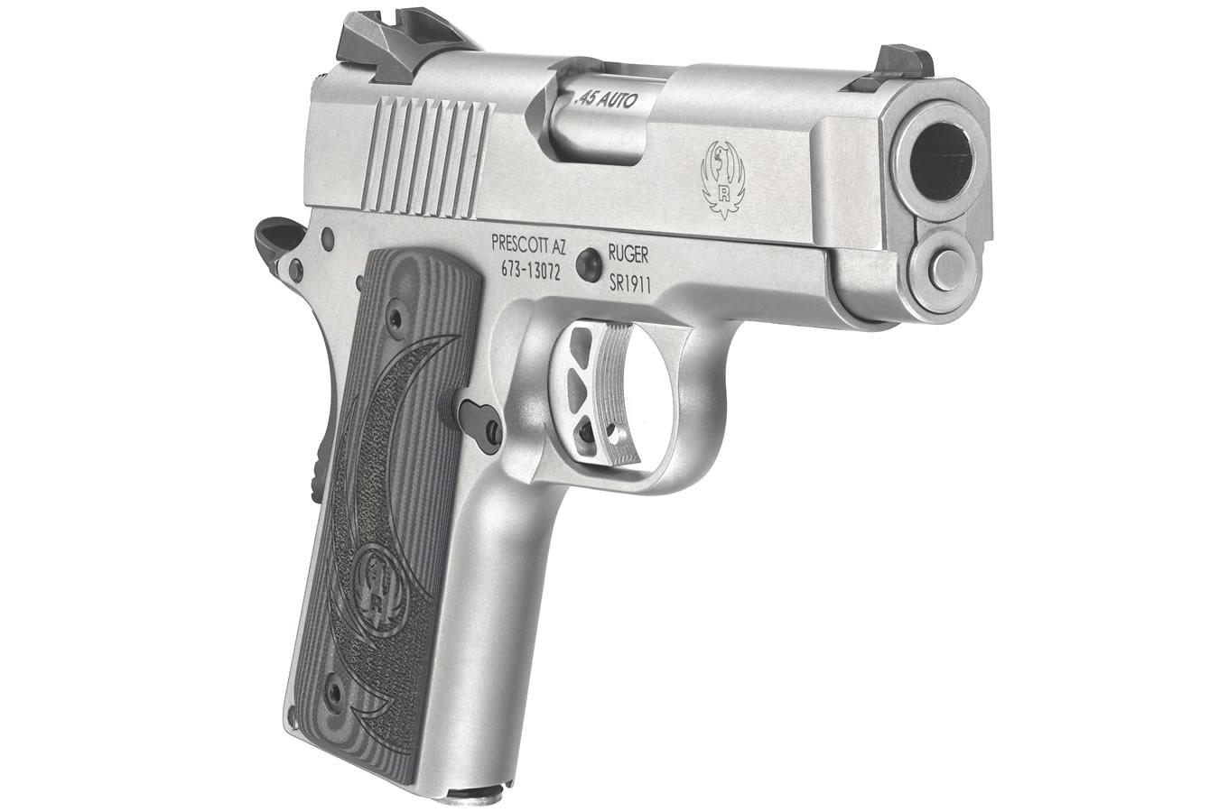 Ruger SR1911 45 ACP Officer-Style Pistol | Sportsman's ...