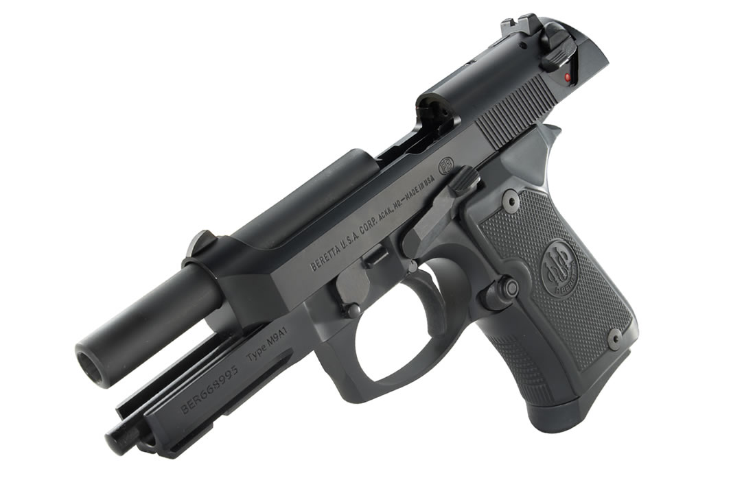 92FS Compact 9mm Brunition Centerfire with Rail
