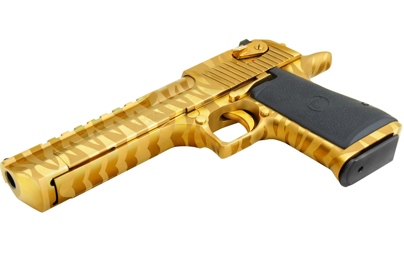 Magnum Research Desert Eagle 50 A E Mark Xix Titanium Gold With