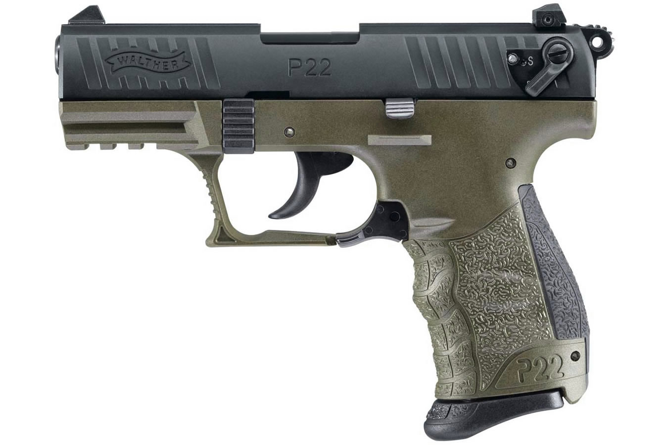 Walther P22 Military 22lr Rimfire Pistol Sportsman S