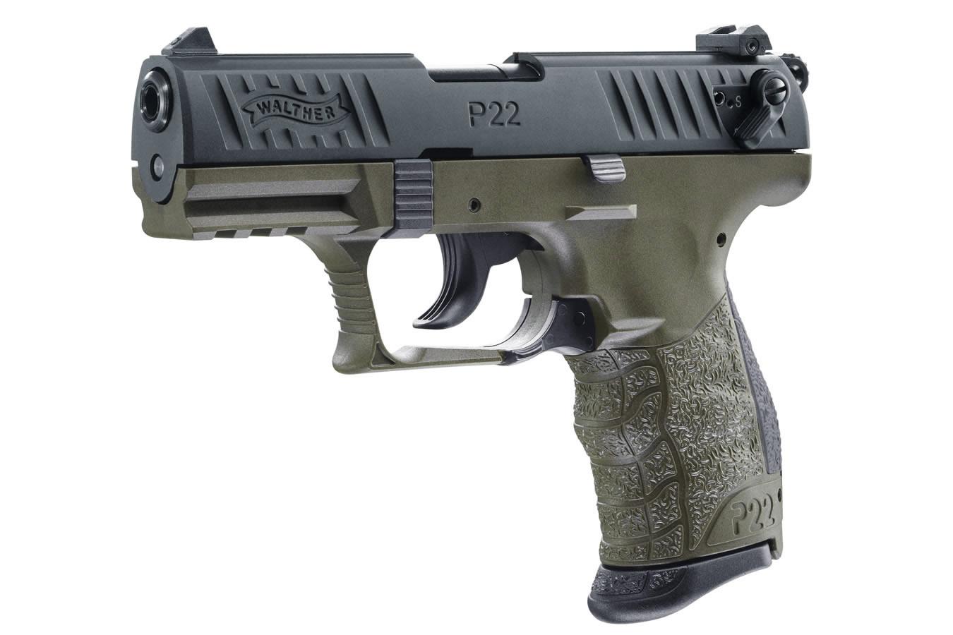 P22 Military 22LR Rimfire Pistol