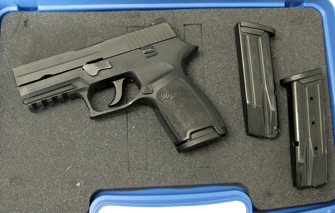 Sig Sauer P250c 9mm Police Trade-ins with Night Sights