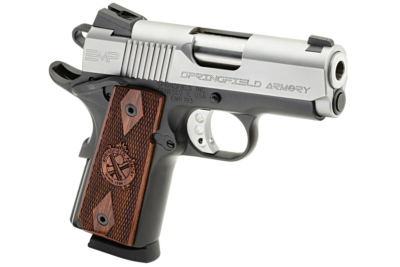 1911 EMP 9mm Bi-Tone Pistol with Instant Gear Up Package