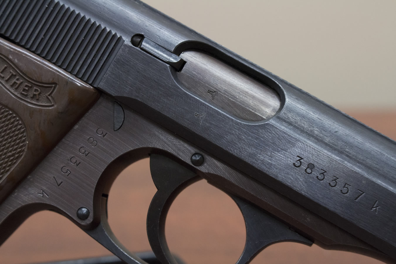 walther pp nazi serial numbers