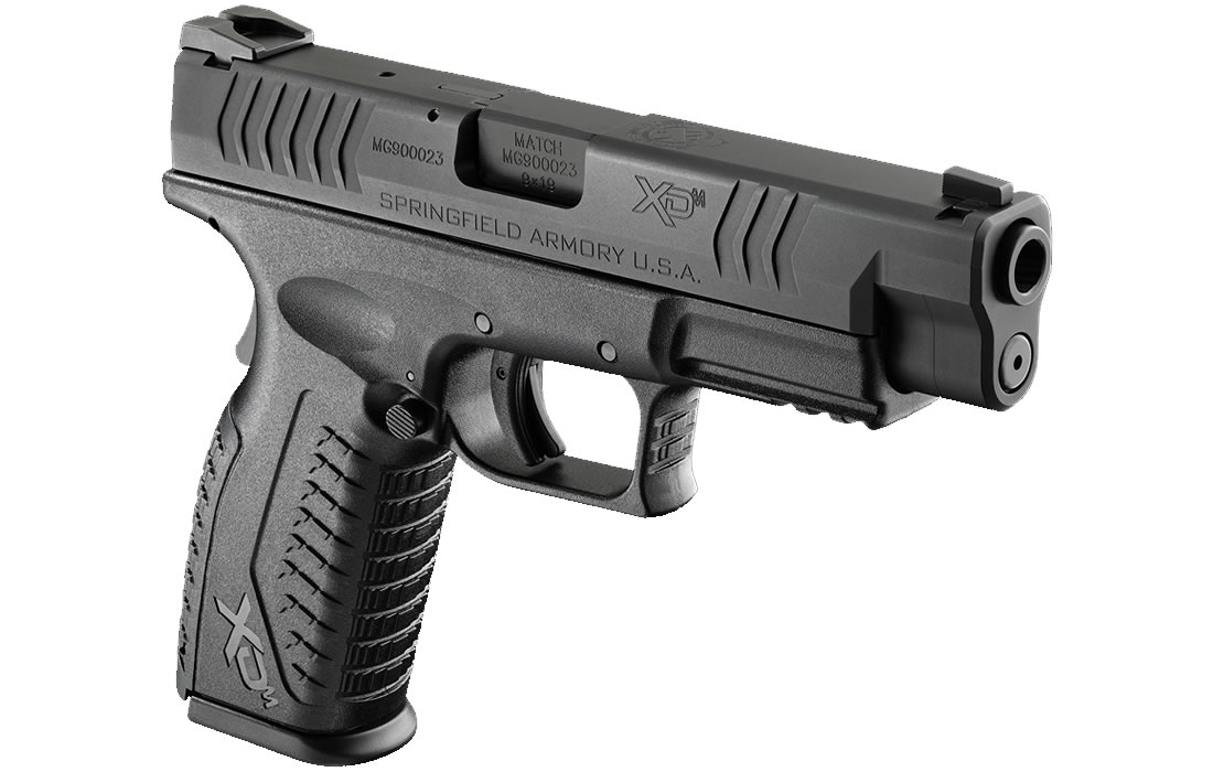 Springfield XDM 9mm 4.5 Full-Size Black | Sportsman's Outdoor ...
