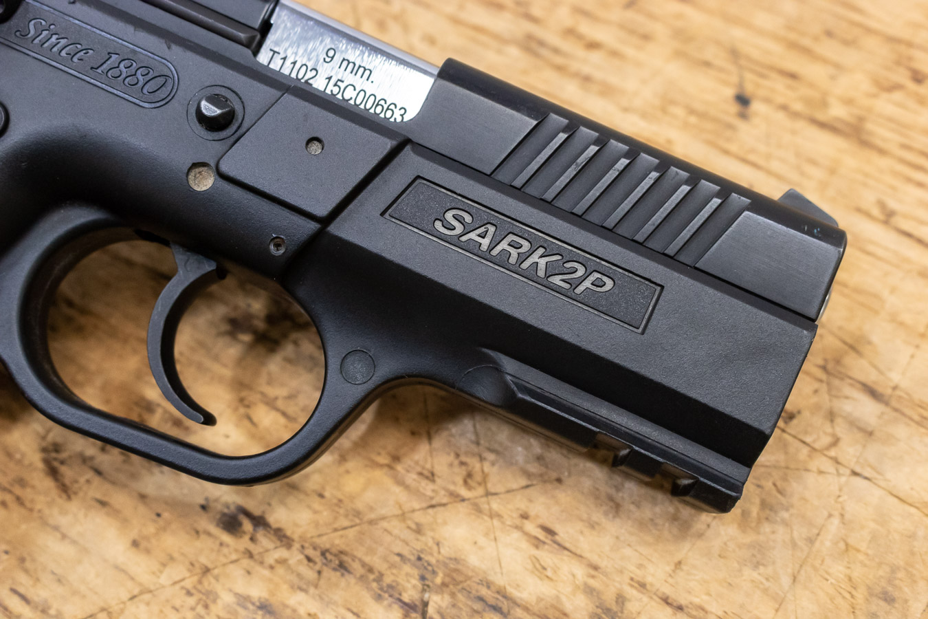 SAR K2P 9mm 15-Round Used Trade-in Pistol with Adjustable Rear Sight