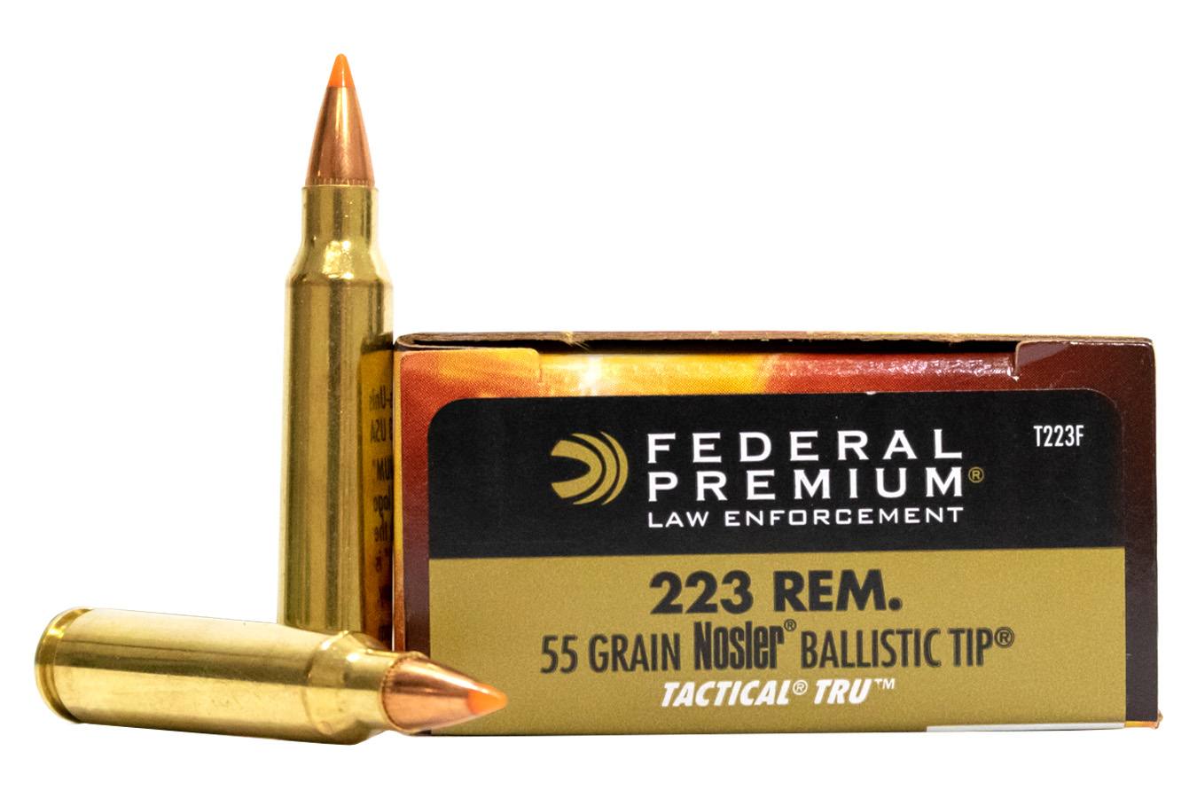 223 Rem 55 gr Nosler Ballistic Tip Tactical Rifle Urban 20/Box