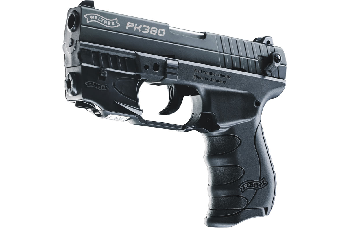 PK380 380 ACP Centerfire Pistol with Red Laser Sight