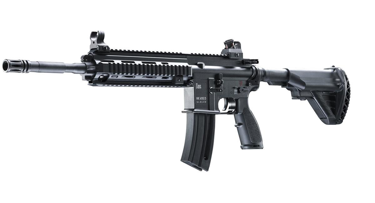 HK 416 D145RS 22LR M16 Variant Rimfire Rifle