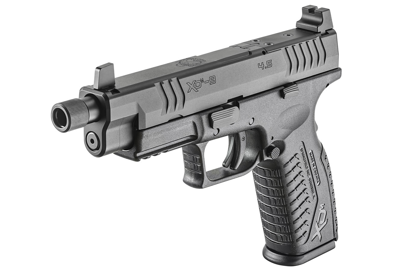 XDM OSP 9mm 4 5 Full-Size Optics-Ready Pistol with Threaded Barrel