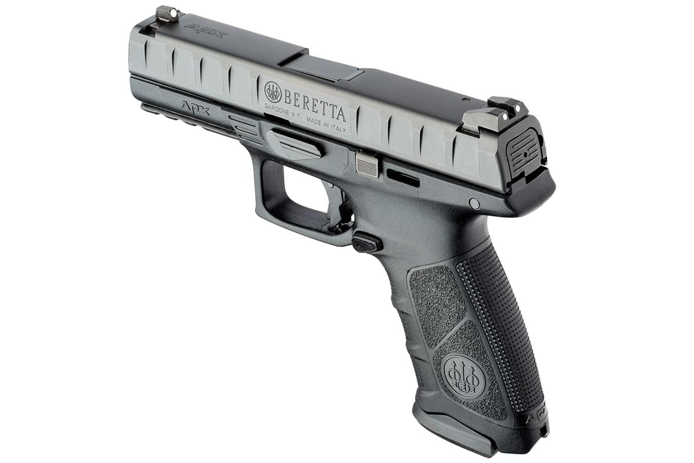 Beretta APX 9mm 17-Round Striker-Fired Pistol (Black ...