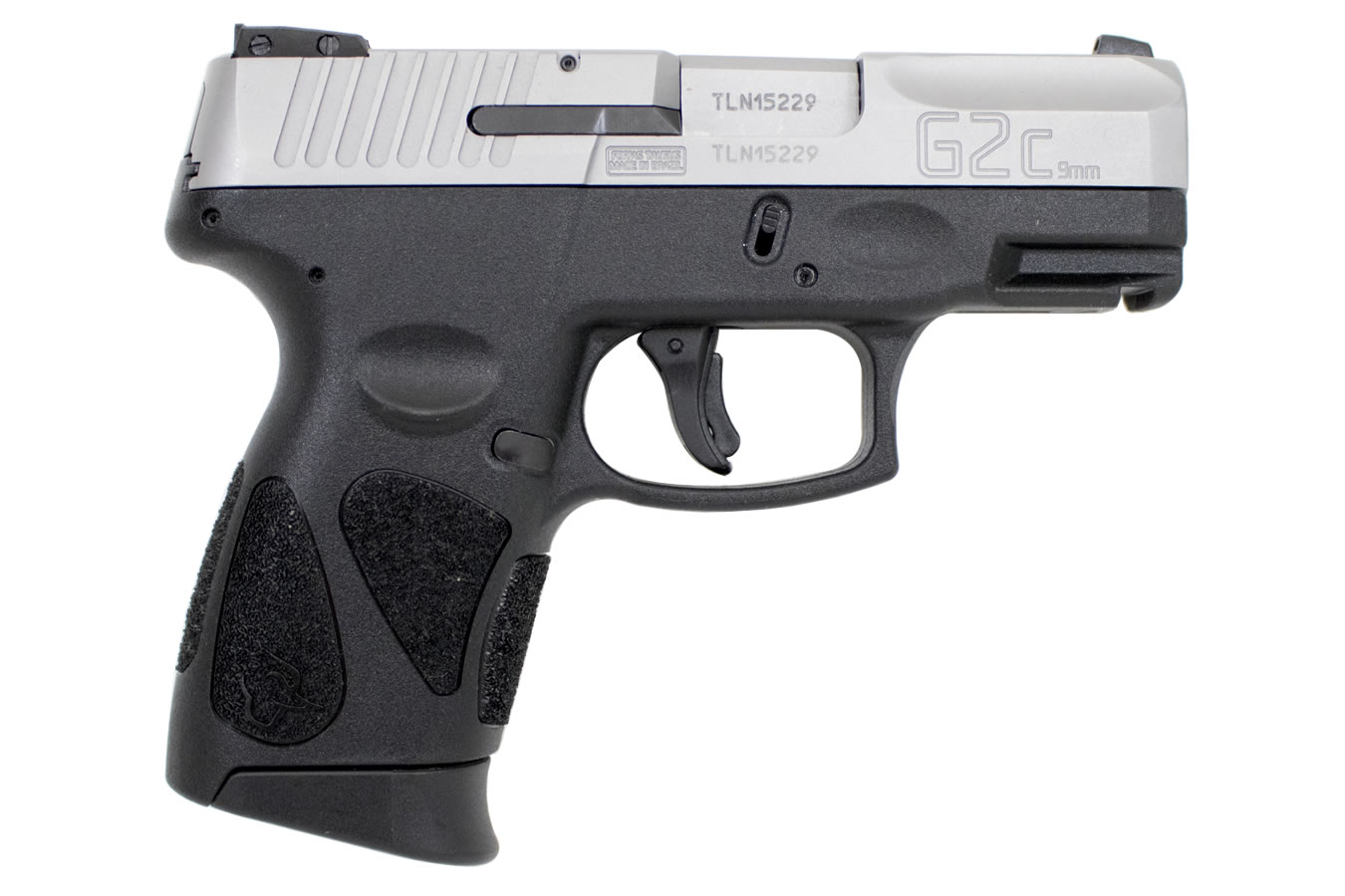 Taurus G2c 9mm Sub Compact Pistol With Stainless Slide