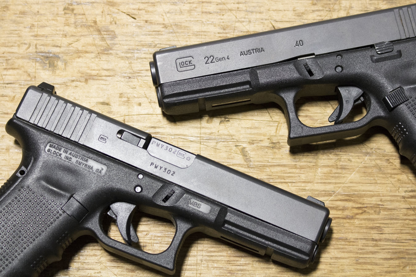 Glock 22 Gen4 40 S&W Police Trades (Very Good Condition ...