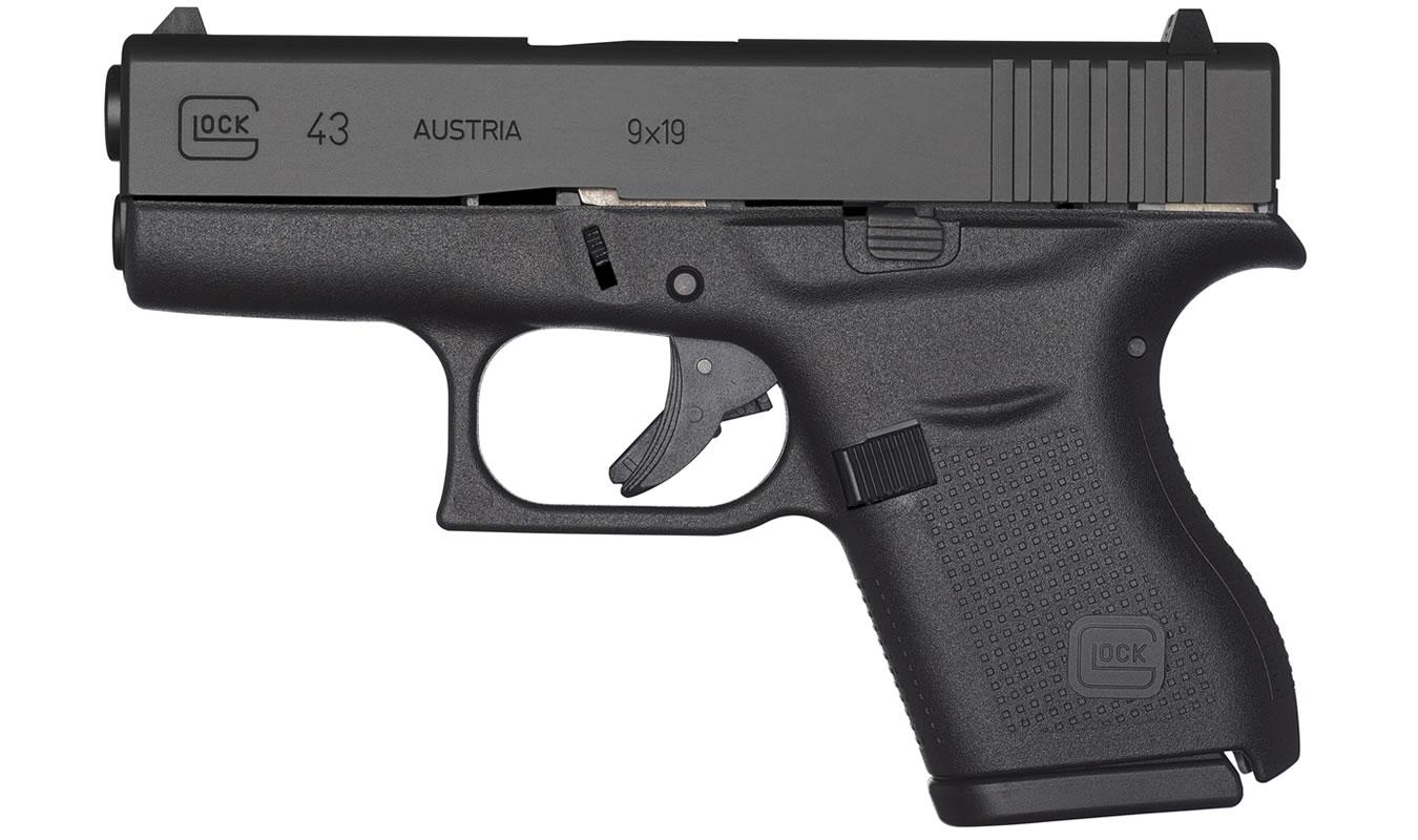 Glock 43 9mm Single Stack Pistol   Sportsman's Outdoor ...