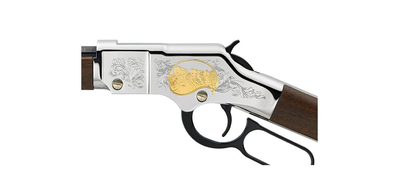 Henry Golden Boy 22lr American Farmer Tribute Edition Heirloom Rifle