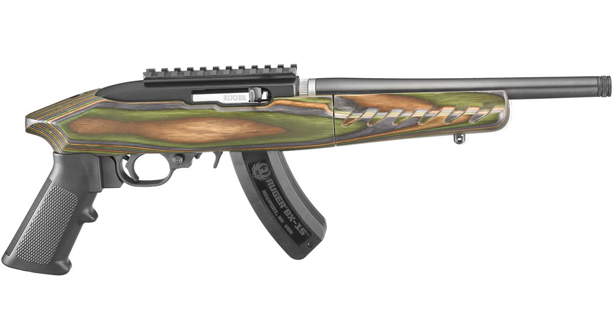 Ruger 22 Charger Takedown 22 Lr Rimfire Pistol With Green