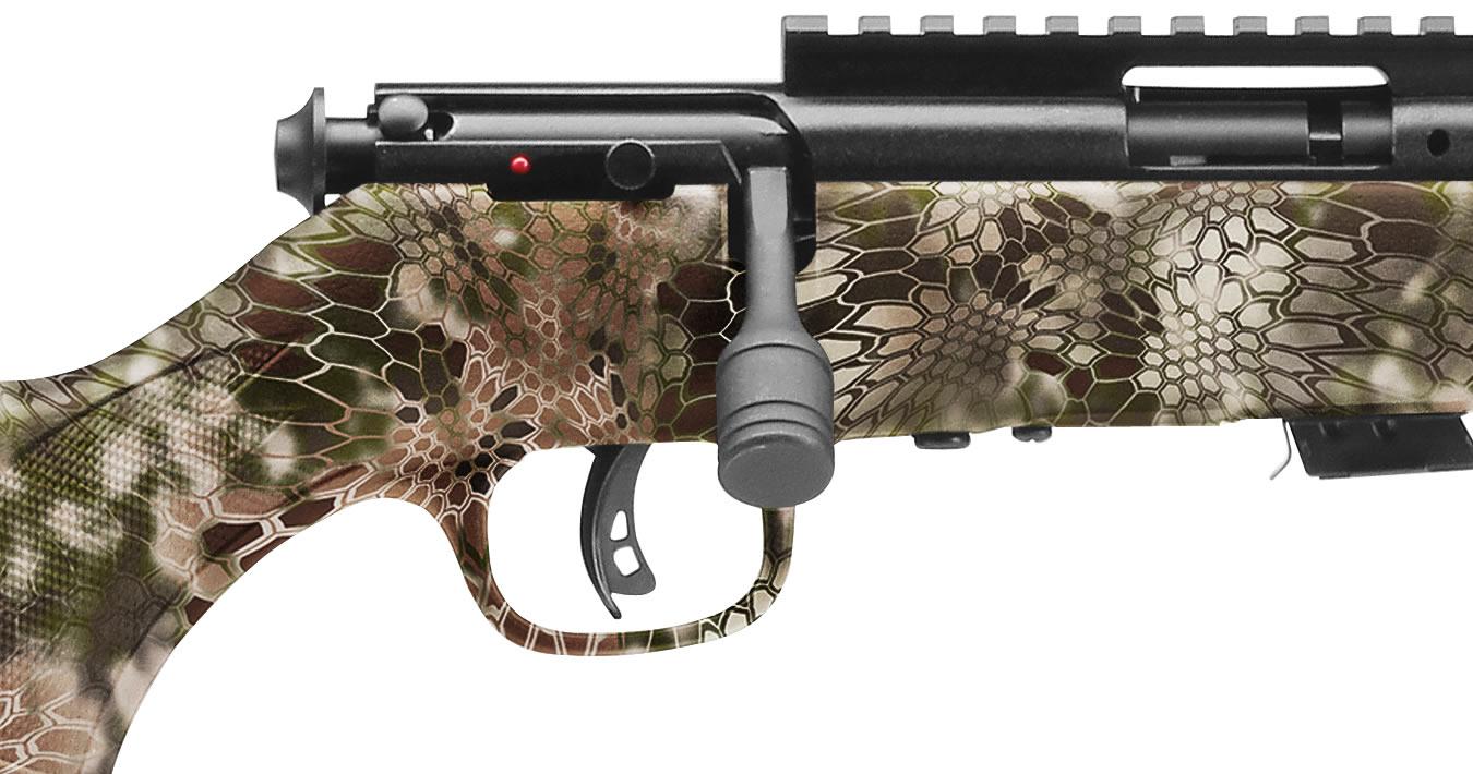 Mark II FV-SR 22LR Bolt Action Rimfire Rifle with Kryptek Highlander Stock