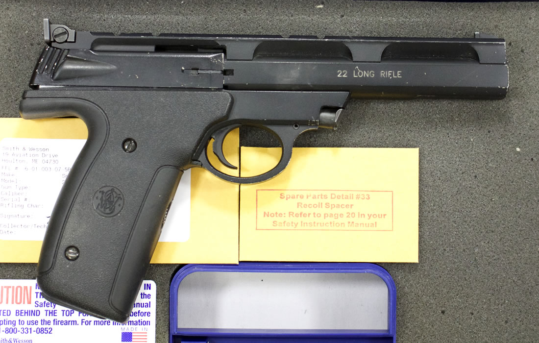 smith wesson 22a 22lr police trade in rimfire pistols rh sportsmansoutdoorsuperstore com Smith and Wesson 22A Magazine Smith and Wesson Revolvers